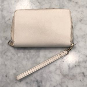 Tory Burch Bags - Tory burch white wallet